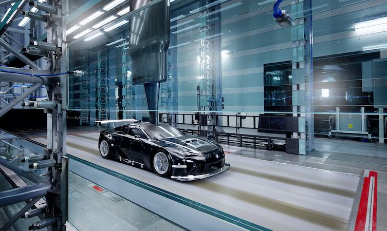 Lexus lfa windtunnel
