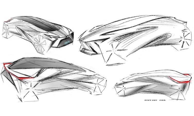 Lexus LF-30 sketch