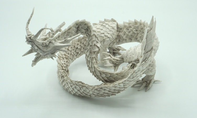 Ryujin 3.5 origami