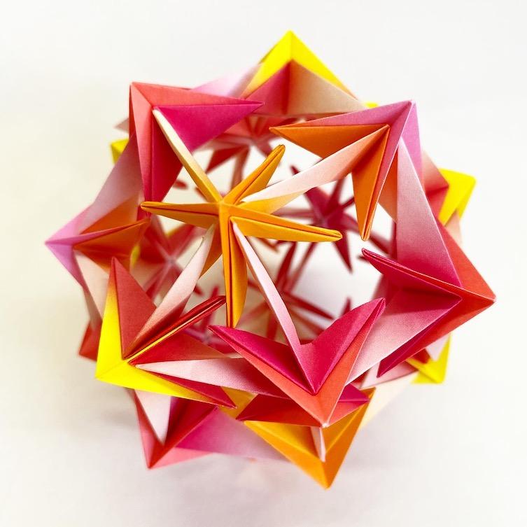 Snow ball origami