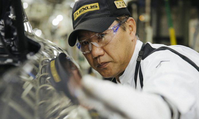 Katsuaki Suganuma final vehicle inspection