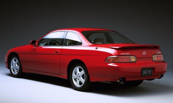Lexus SC red