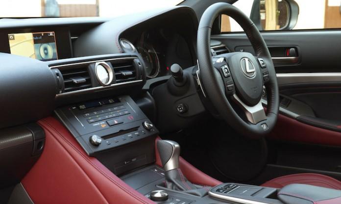 Lexus RC 200t Interior