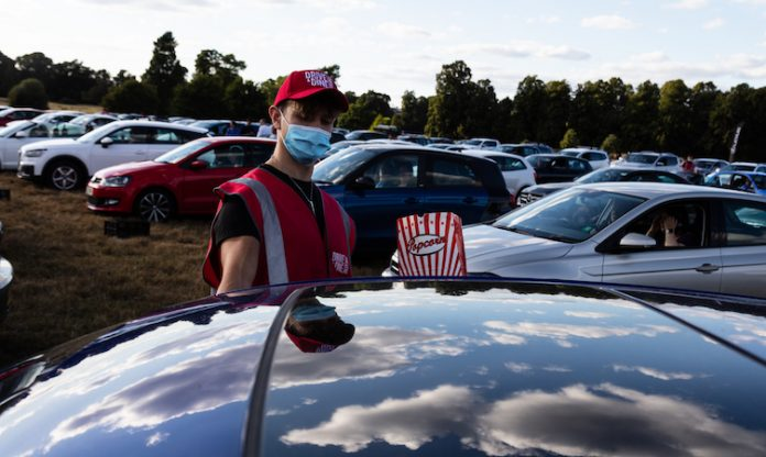 Lexus drive-in cinema