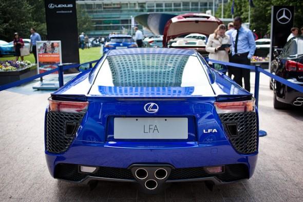 Lexus Festival of F Canary Wharf LFA