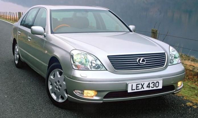 third-generation Lexus LS