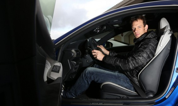 Alex Wurz and the Lexus RC F