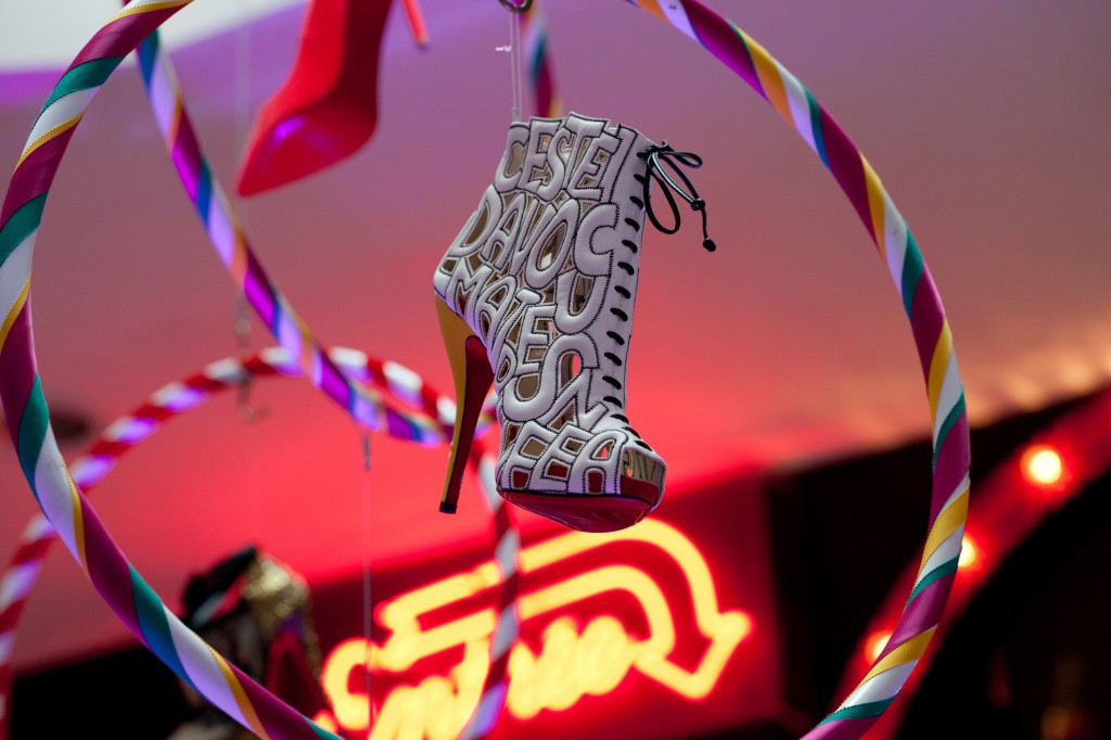 Lexus recommends Christian Louboutin at the London Design Museum