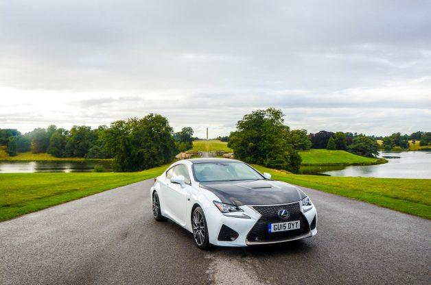Lexus RCF Carbon Edition at Blenheim Palace