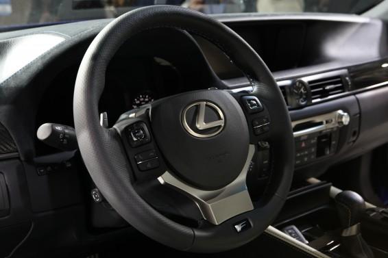 GS F interior LHD