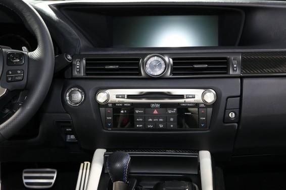 GS F interior LHD2