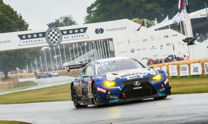 Lexus RC F GT3 Goodwood