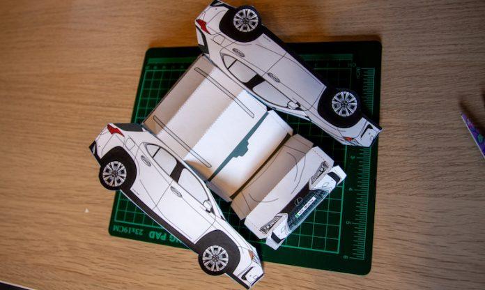 UX 300e paper model