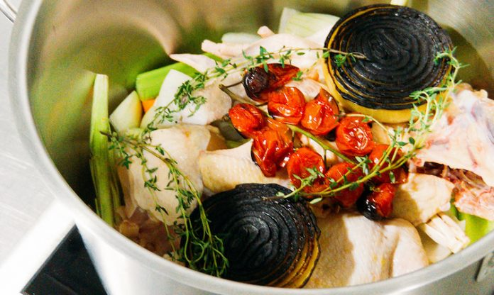 TOMYUM CHICKEN CONSOMME RECIPE BY CHARLES TAN