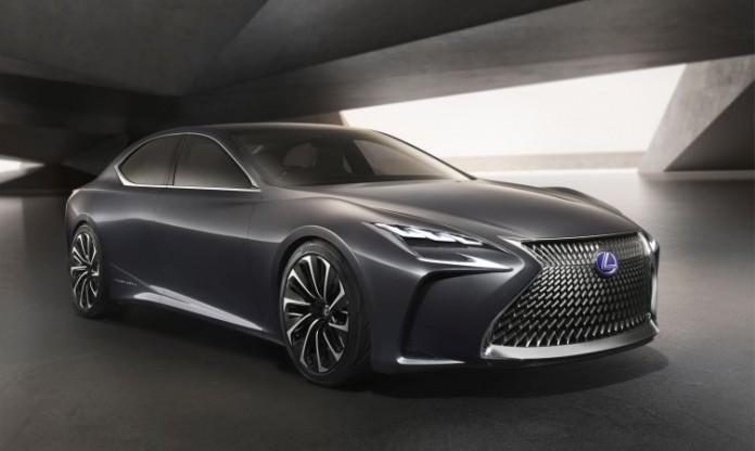Lexus LF-FC fuel cell vehicle