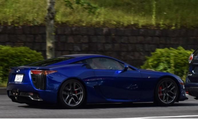 LFA blue