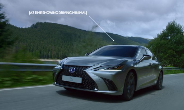Lexus ES Driven To Intuition