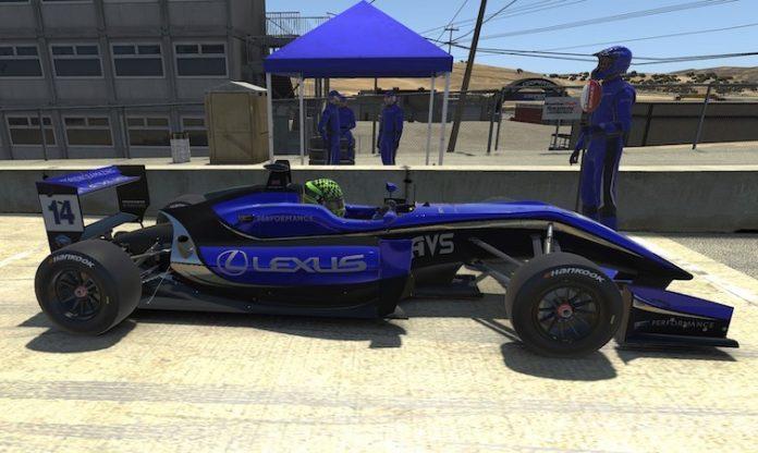 Lexus Isolation e-racer 2020
