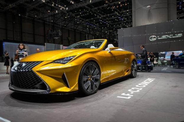 Lexus Geneva motor show