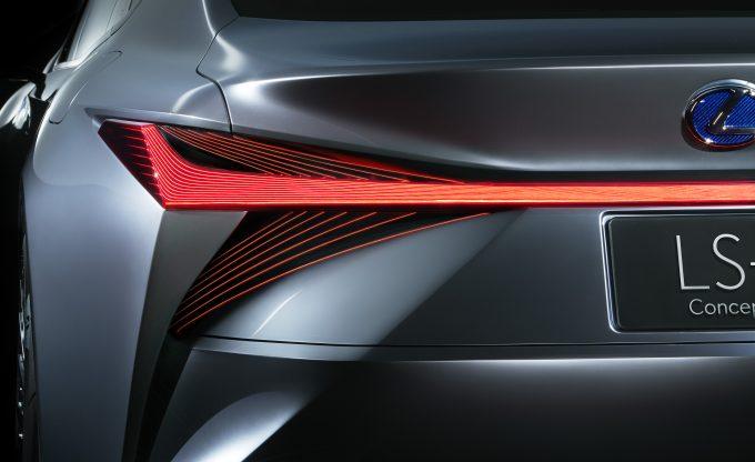 Lexus LS+ Concept rear