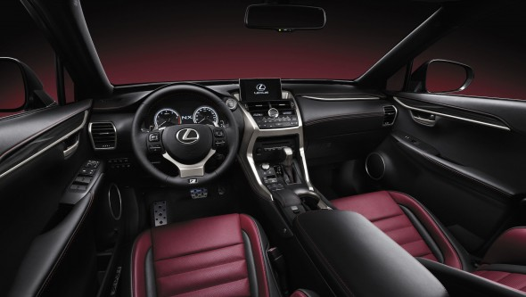 15 innovations of the Lexus NX interior