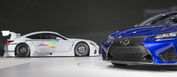 Lexus RC F GT3 and new Lexus GS F