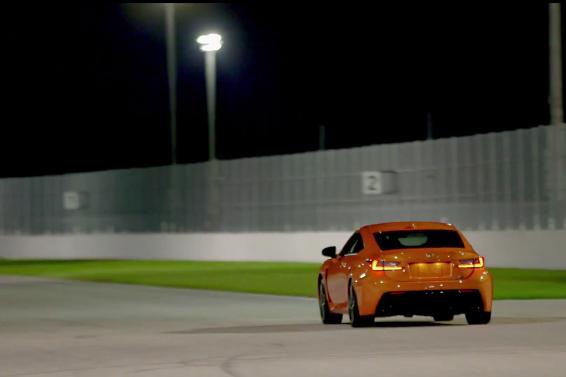 Lexus RCF Track 3