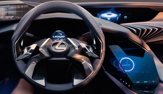 Lexus UX HMI