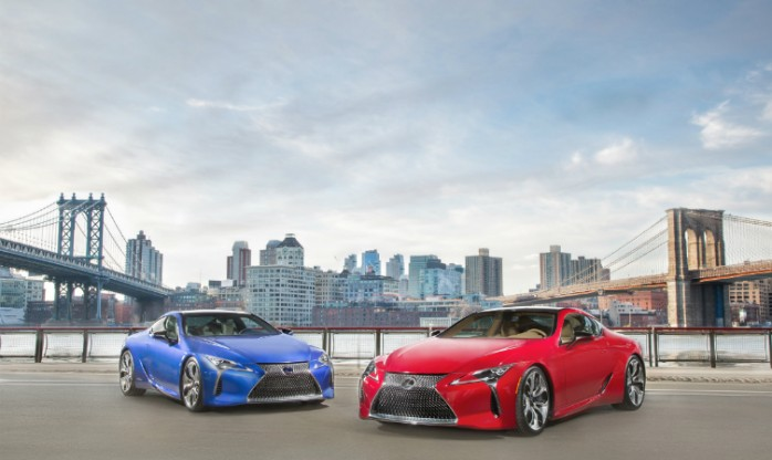 LC 500 and LC 500h
