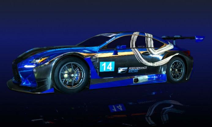 Lexus racing RC F GT3