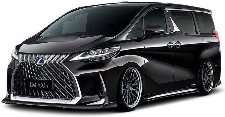 Lexus LM modified