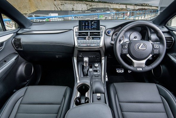 NX F Sport interior 10,000 orders placed in Europe