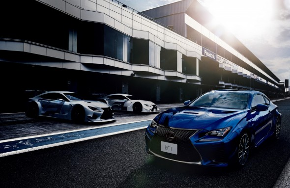 Lexus RC F track day Japan launch