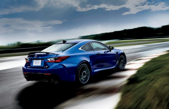 Lexus RC F track day Japan launch (4)