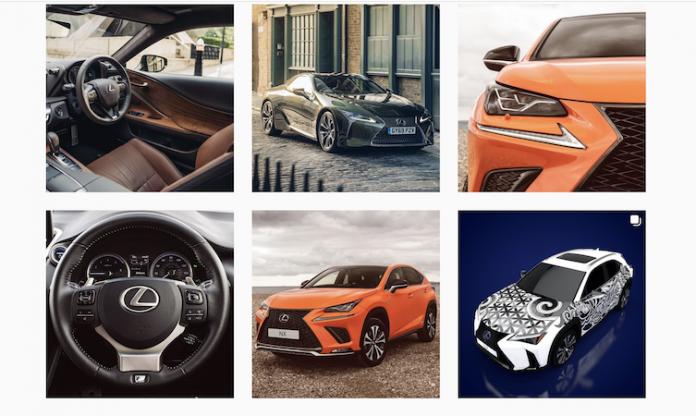 Lexus UK Instagram