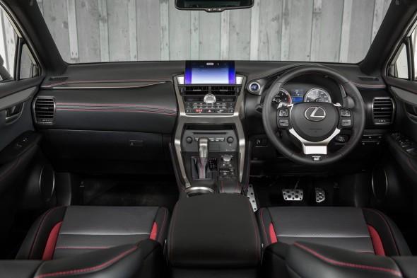 Lexus NX Right-hand drive interior black