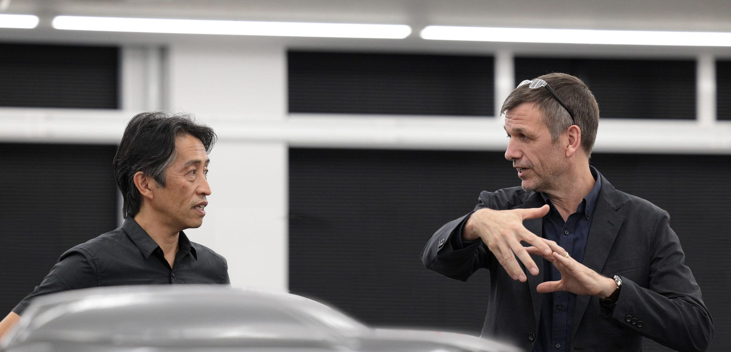 Simon Humphries and Koichi Suga