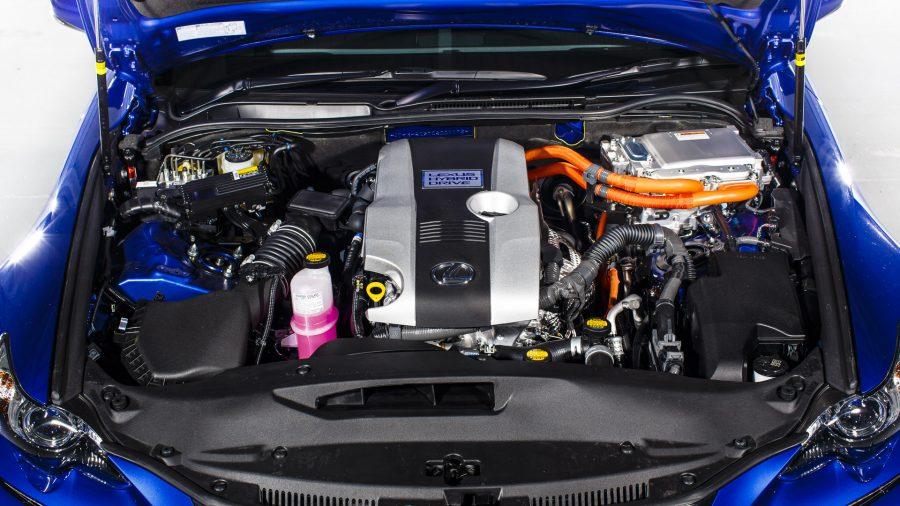 Lexus IS hybrid engine