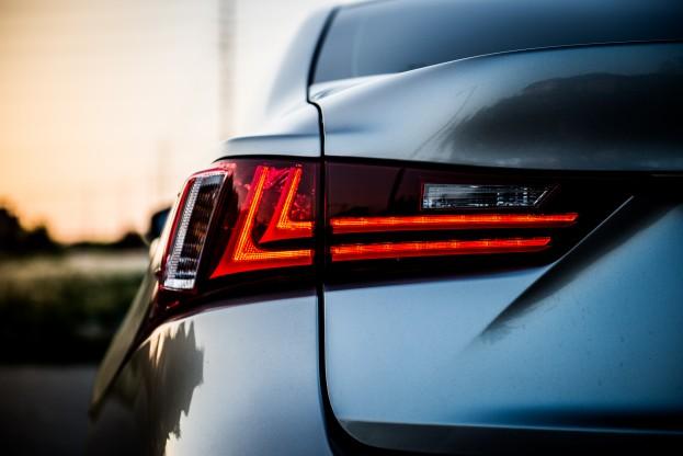 Tapan Patel (Lexus IS350F tail lights)