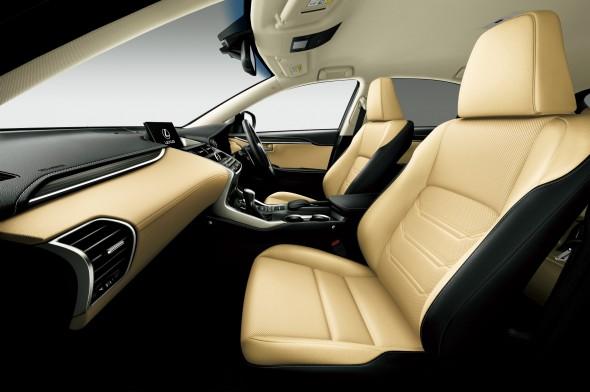 Lexus NX Right-hand drive interior cream