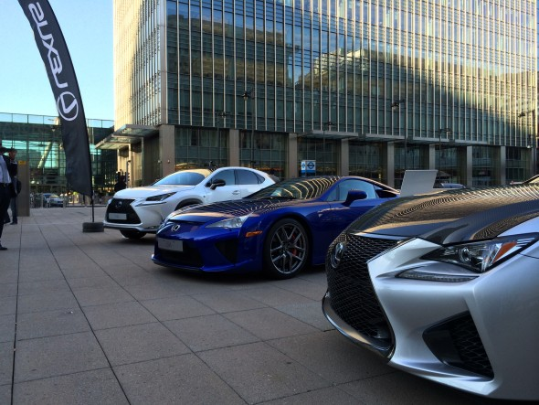Lexus Festival of F Canary Wharf