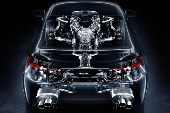 Lexus RC F Torque-Vectoring Differential