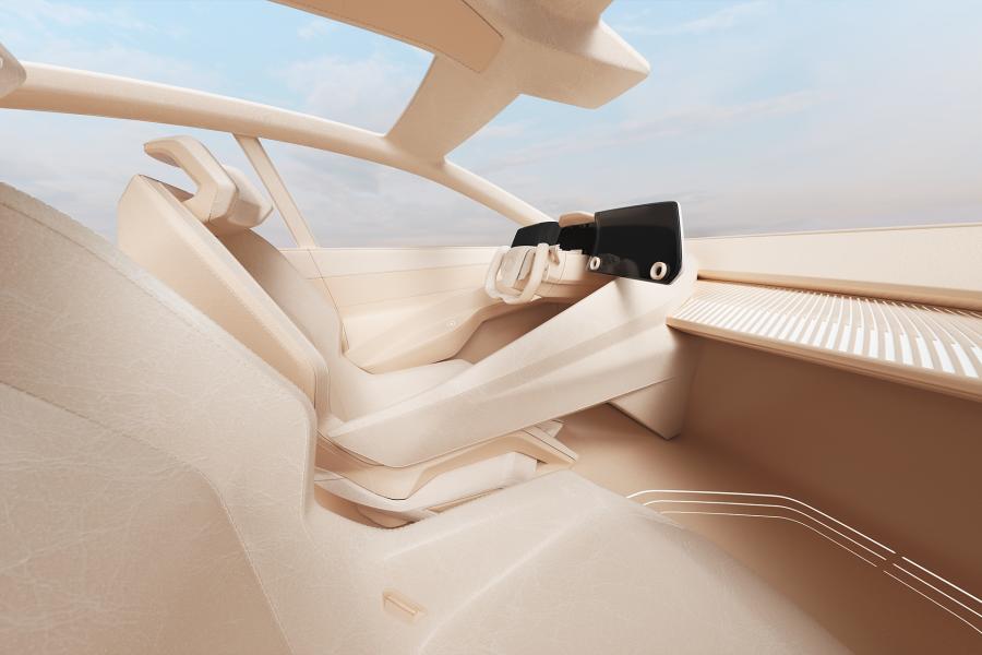 Lexus LF-Z Electrified virtual interiors - Hender Scheme