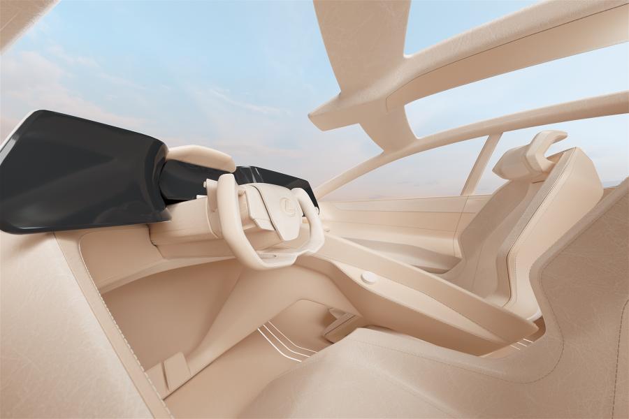 Lexus LF-Z Electrified - Hender Scheme interior