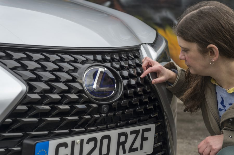 In Search of Takumi Lexus UX grille