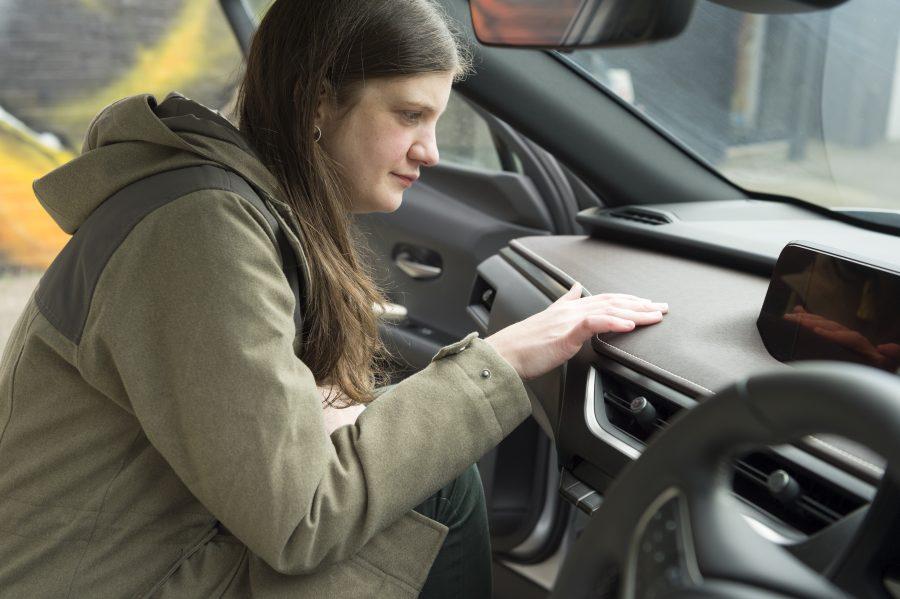 In Search of Takumi: Lexus UX Washi dashboard