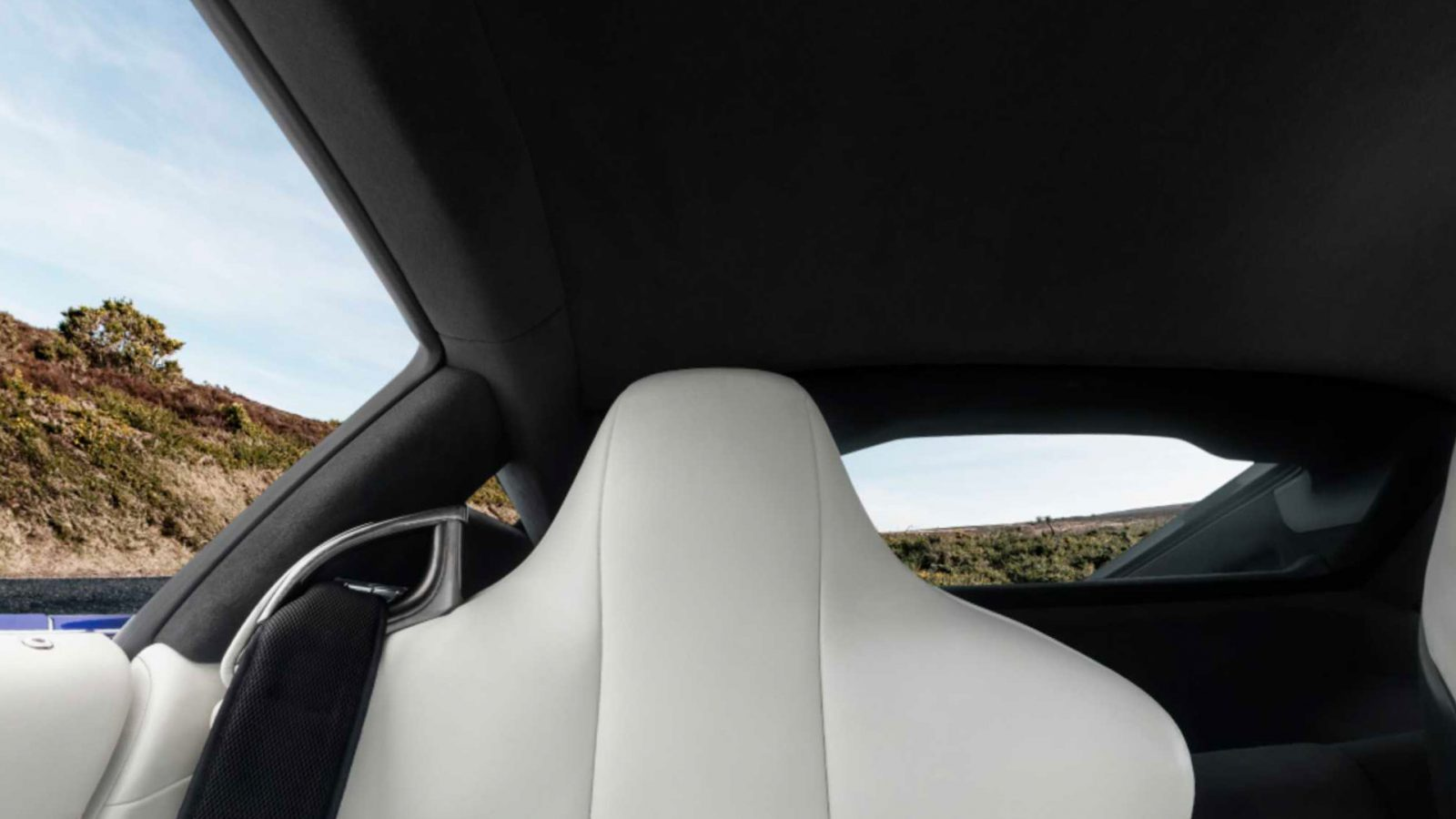 Virtual background of Lexus LFA interior