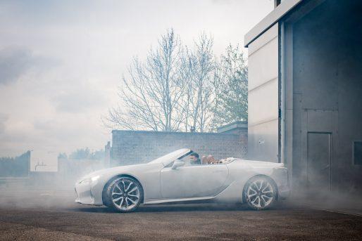 Frozen Lexus LC C