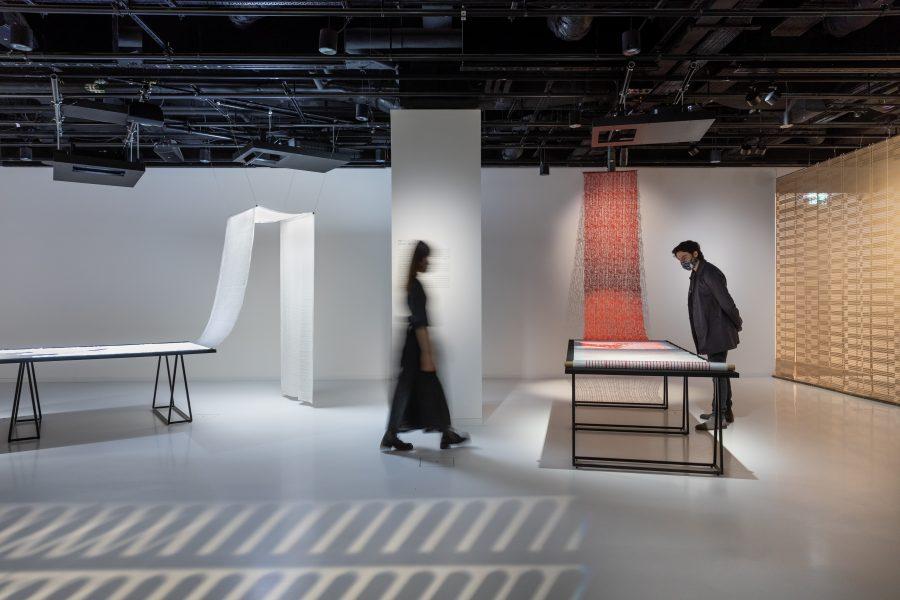 """MAKING NUNO"" exhibition at Japan House London."