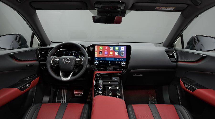 NX 450h+ plug-in hybrid interior